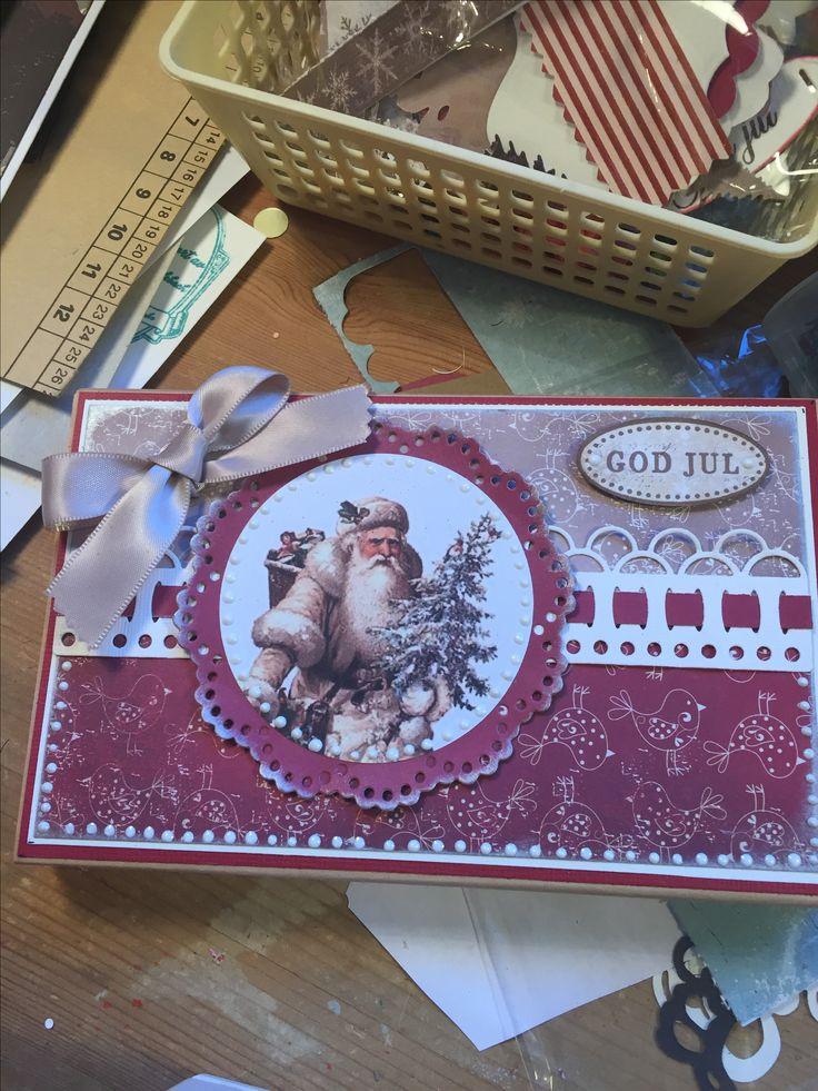 Christmas choclat box