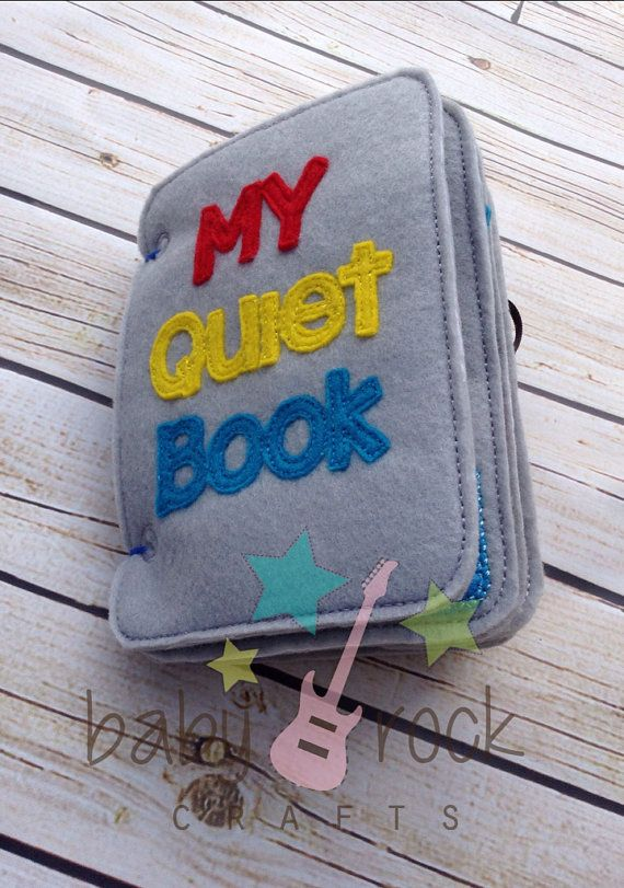 Love this little quiet book
