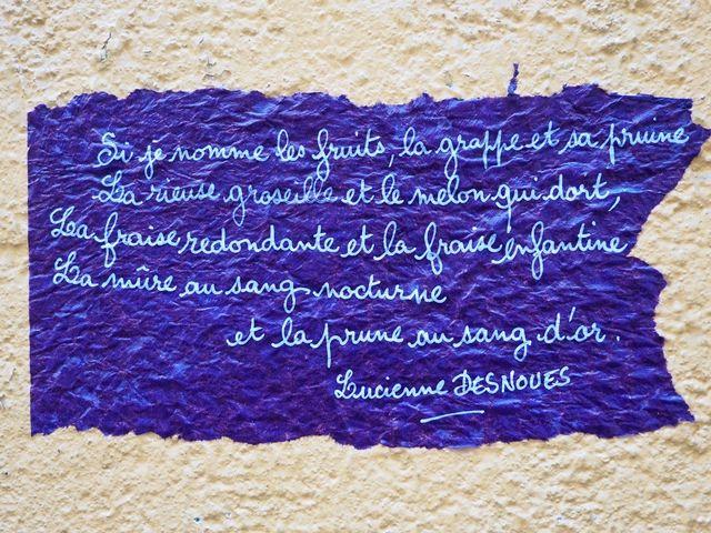 Sur les murs de eManosque pendant les #Correspondances  Crédits : Laurent Gayte- Manosque - 2014