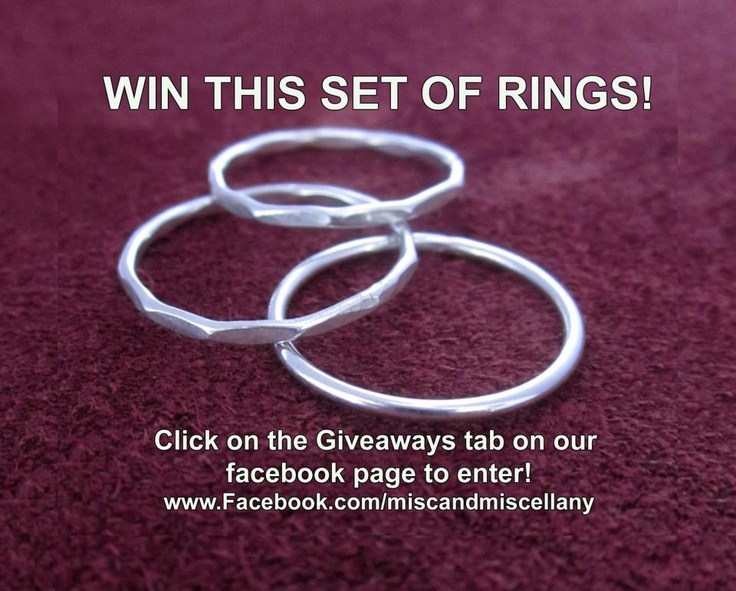 Win a great set of rings