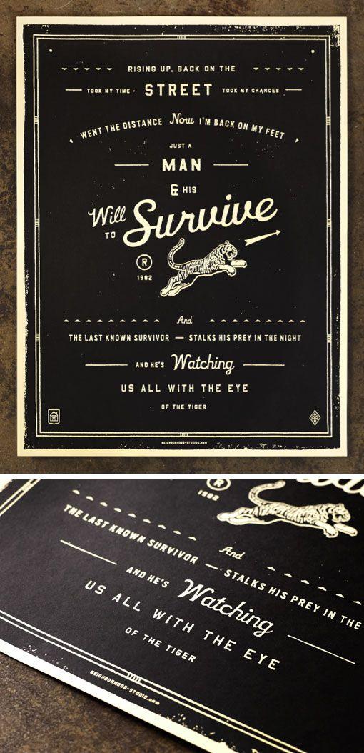 Neighborhood Studio Prints #graphic design #illustration #typography
