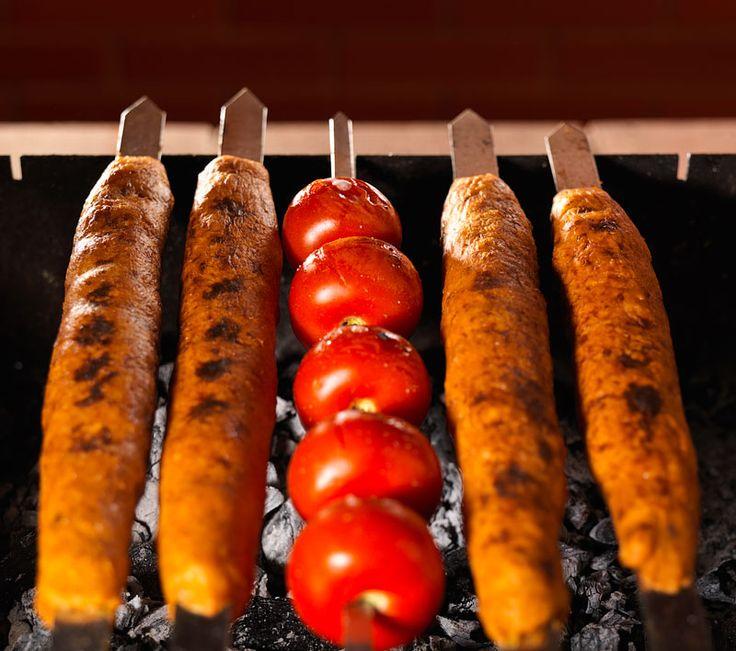 Кебабы из картошки и курицы - Около еды и не только