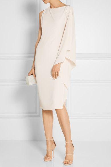 Cushnie et Ochs   Bella Kleid aus Stretch-Crêpe mit asymmetrischer Schulterpartie   NET-A-PORTER.COM
