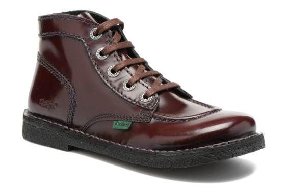 Zapatos con cordones Kickers Legendiknew vista 3/4