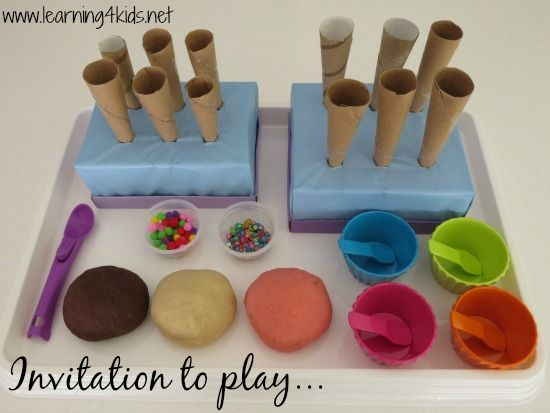 Image result for play doh invitation to play