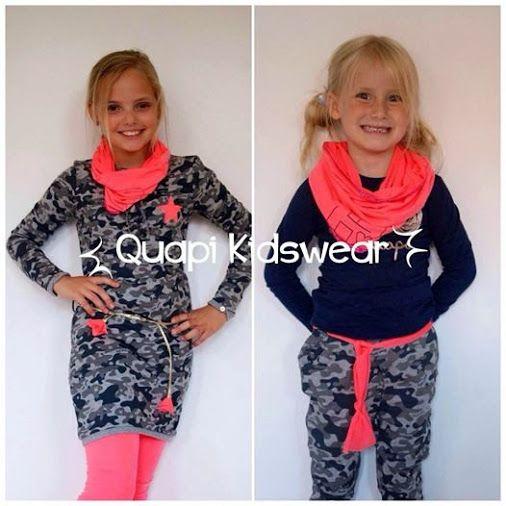 Maaike Kleinhaarhuis-Rijssemus - Google+  Heel gaaf de legerprints van het merk #Quapi #Kidswear  www.lotenlynn.nl