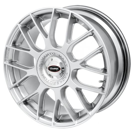 TEAM DYNAMICS IMOLA HYPER SILVER alloy wheels with stunning look for 4 studd wheels in HYPER SILVER finish with 18 inch rim size