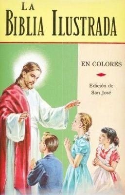 La Biblia Ilustrada, Illustrated Bible, Hardcover