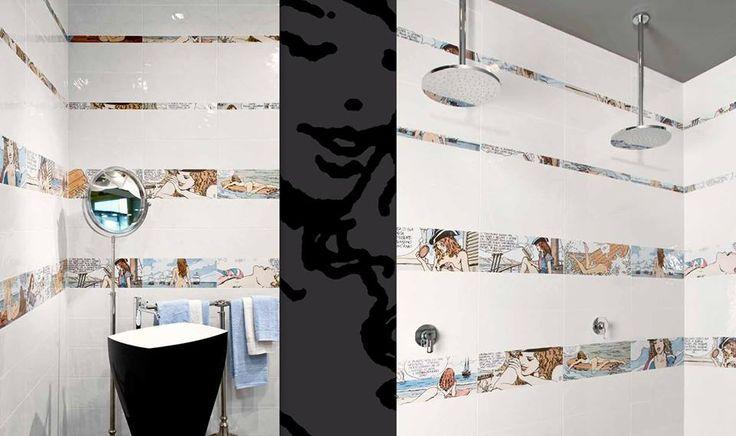 Ο Milo Manara, γνωστός σε όλους μας για τα ερωτικά του κόμικς, προκαλεί και στον χώρο του μπάνιου. #kypriotis #plakakia #anakainisi #mpanio #dapedo