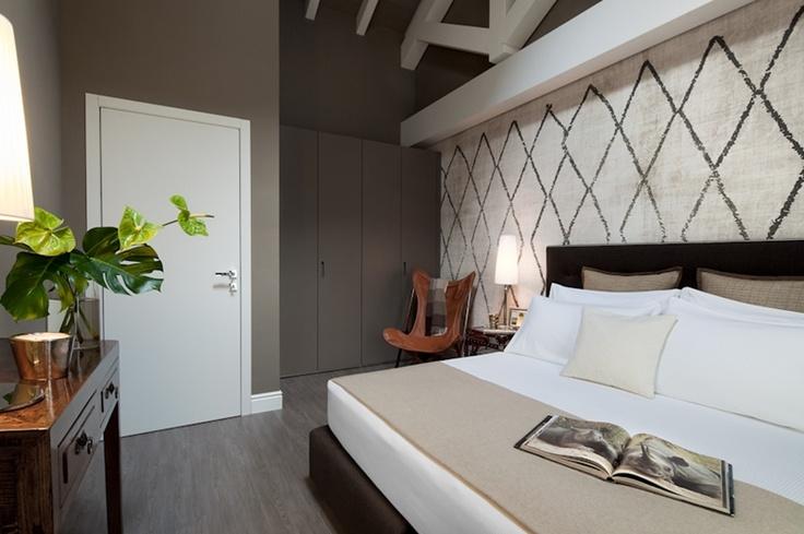 The Ralph Hotel, MIlan, suites.