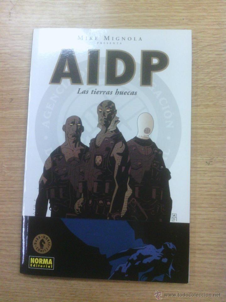 AIDP #1 LAS TIERRAS HUECAS $5