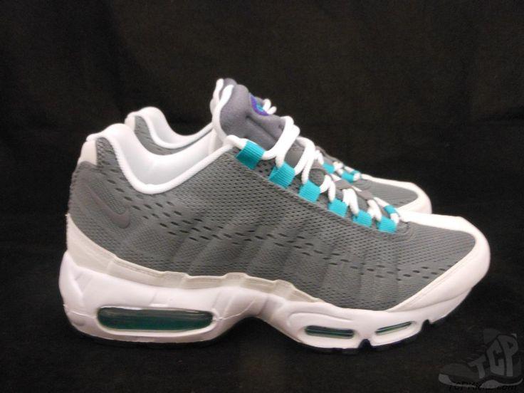 Vtg OG 2012 Womens Nike Air Max 95 PRM EM sz 9.5 IX Cool Grey Court