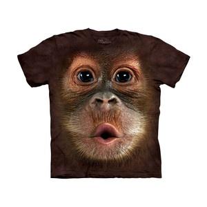 Big Face Orangutan T-Shirt, £15.20, now featured on Fab.