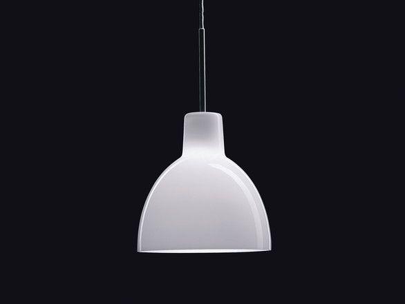 Louis Poulsen Toldbod Glass Pendant Light
