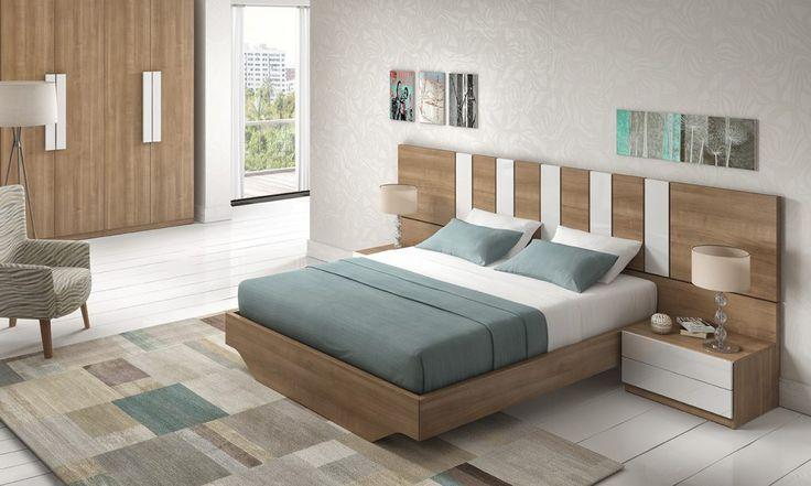 Dormitorio moderno (168 – D37) - Muebles CASANOVA
