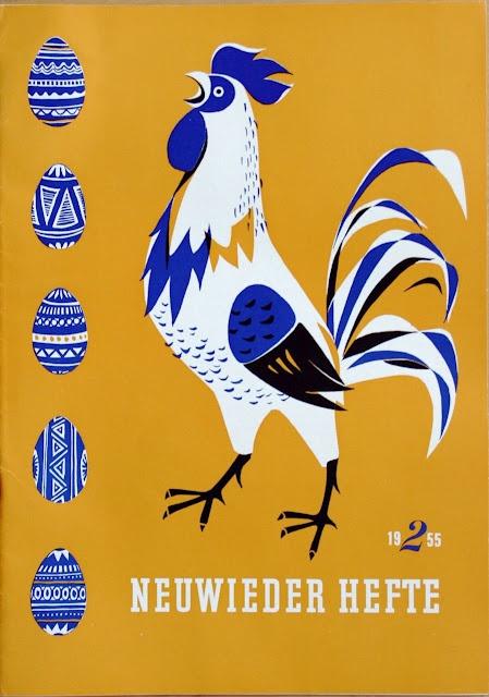 Neuwieder Hefte magazine cover, 1955