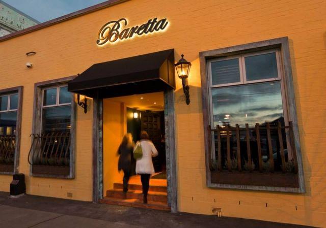 Baretta Bar on St Asaph St - very popular night spot