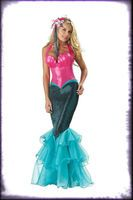 Adult Deluxe Quality The Little Mermaid Sailor Halloween Costume