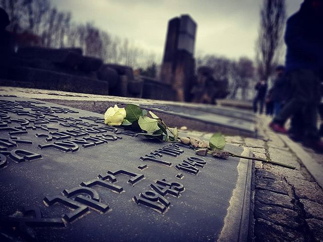 Auschwitz II-Birkenau. The memorial dedicated to all victims of the German Nazi camp. --- Photo by @gillie_claire --- #Auschwitz #AuschwitzMemorial