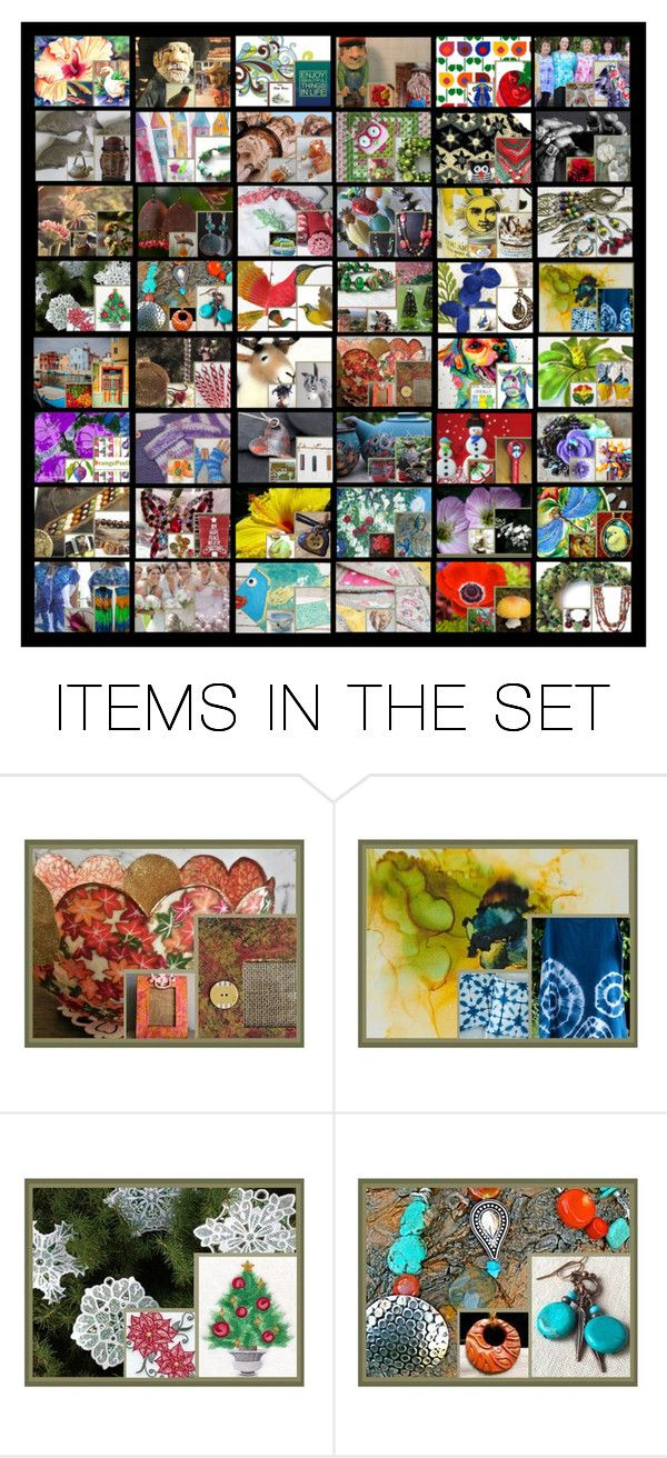 Double Down by rescuedofferings on Polyvore featuring art, vintage, integrityTT and EtsySpecialT