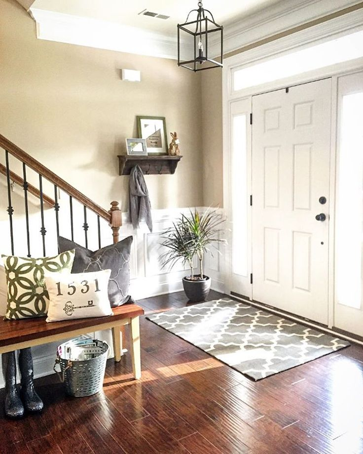 "Jessica on Instagram: ""I'm sharing my #entryway for this week's…"