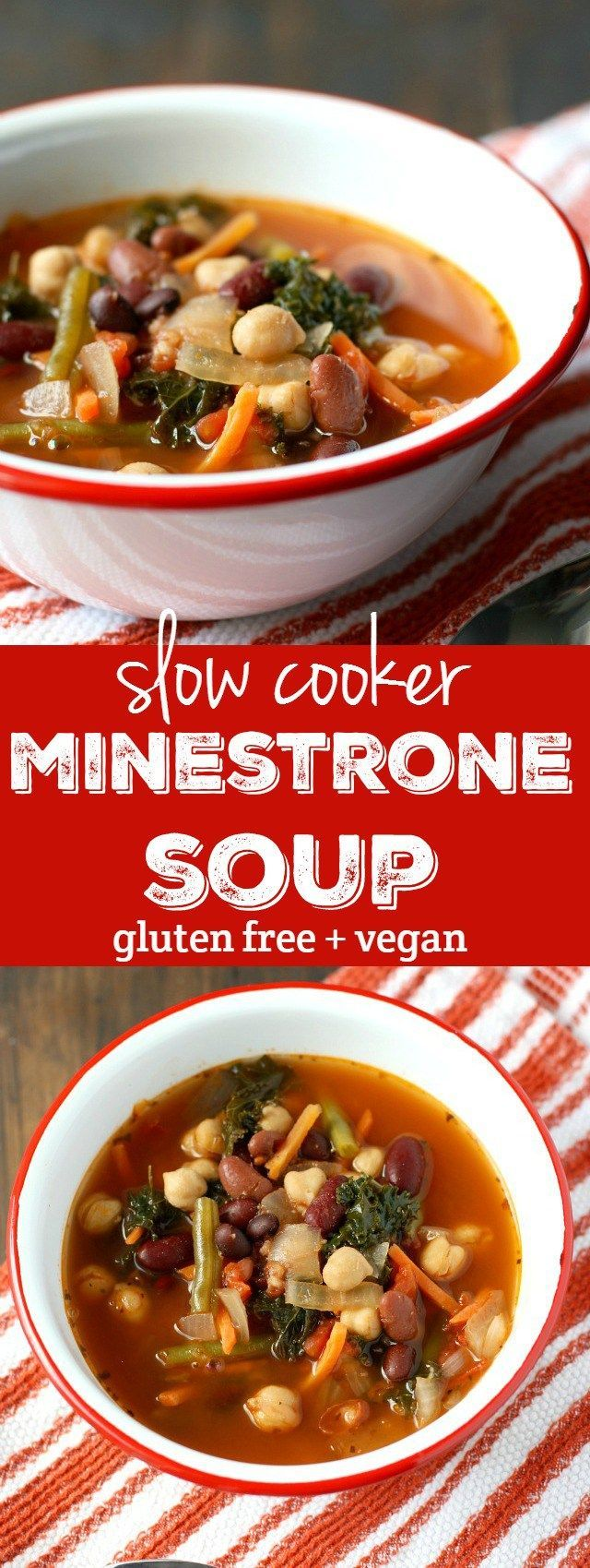 Easy Slow Cooker Minestrone Soup Recipe The O 39 Jays
