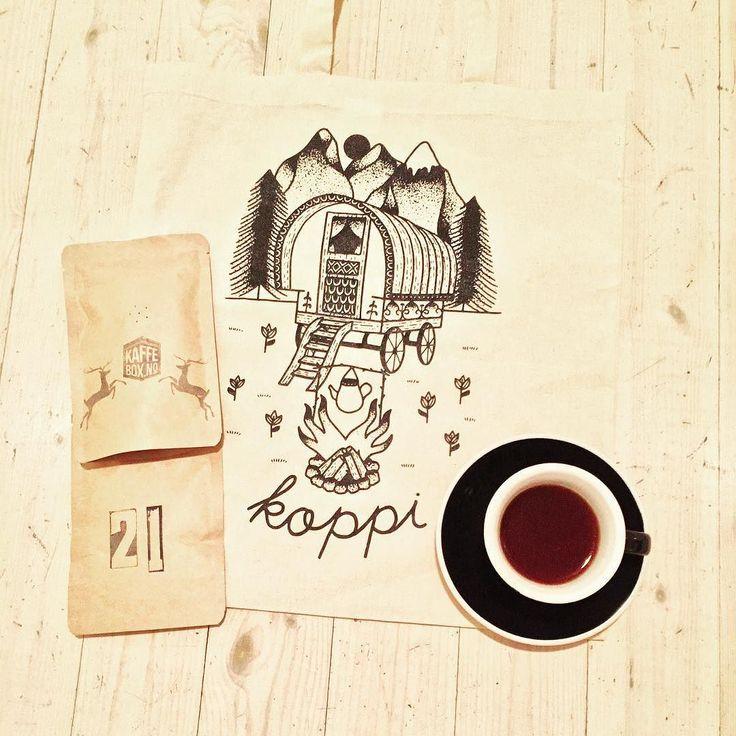 Santa Rosa 1900 de Leon Cortes Tarrazu Costa Rica by @koppi_roasters on the 21st day of my #kaffeboxjul advent calendar. @acmeandco by k_magyar