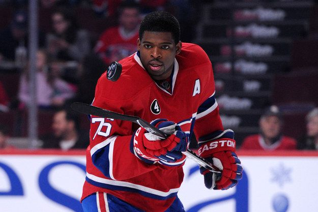 I got P.K. Subban! Which NHL Player Should You Date?