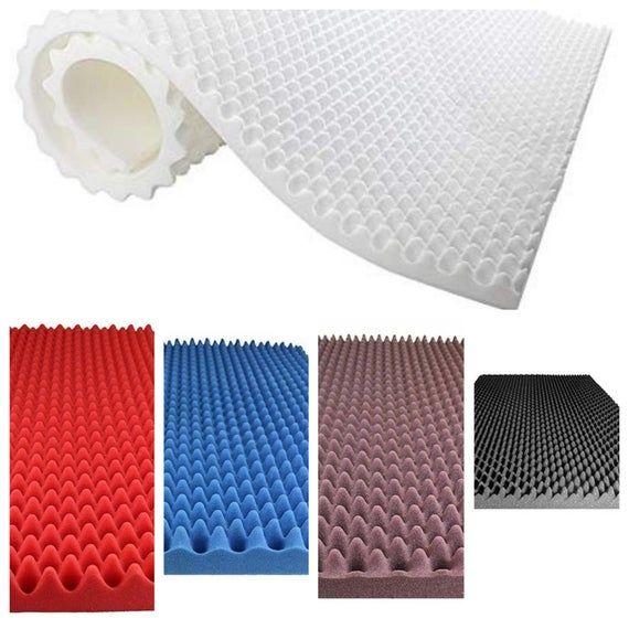 96 X36 X2 5 Soundproofing Foam Professional Acoustic Foam Egg Crate Panel Studio Soundproofing Foam Studio Foam Studio Soundproofing Foam Panels