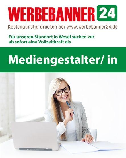 www.werbebanner24.de  #Jobbörse #jobs #job #banner #werbebanner #werbetechnik #banerdruck #mediengestalter #grafikdesigner #dortmund #wesel #nrw #ruhrpott #oberhausen #stellenangebot