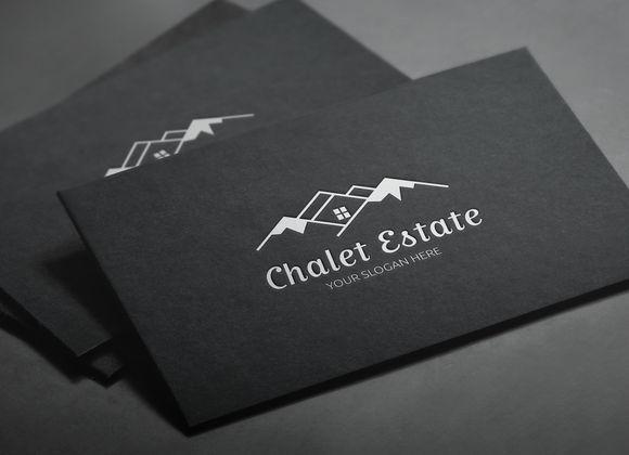Mountain House Hotel Logo by LogoMagazin on Creative Market