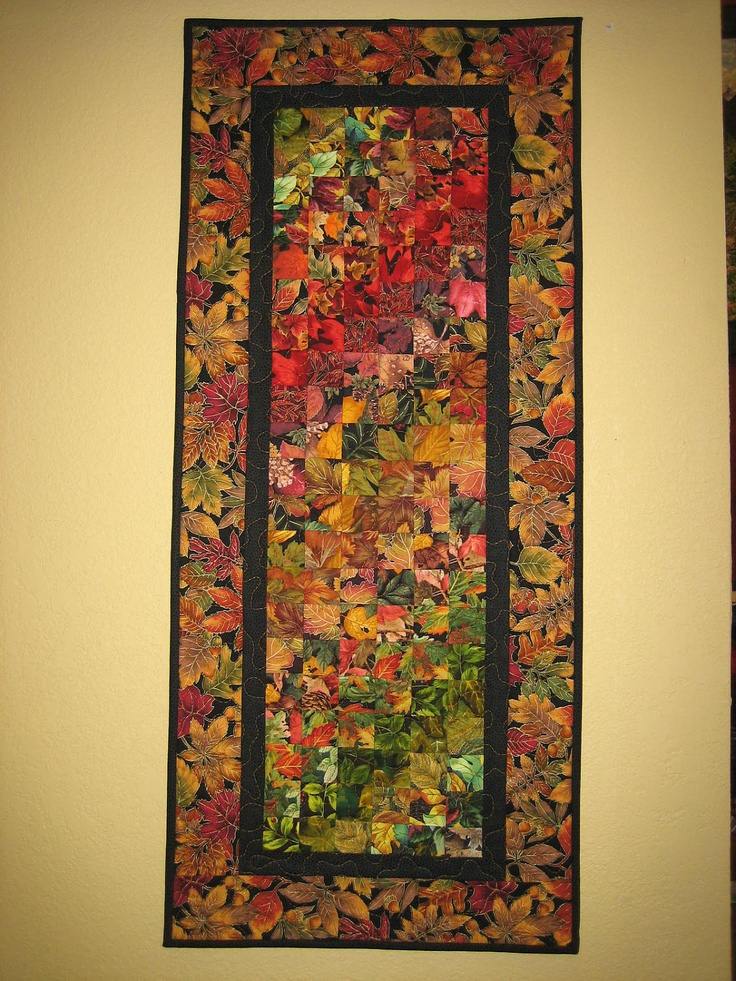 55 Best Fall Quilts Images On Pinterest Fall Quilts