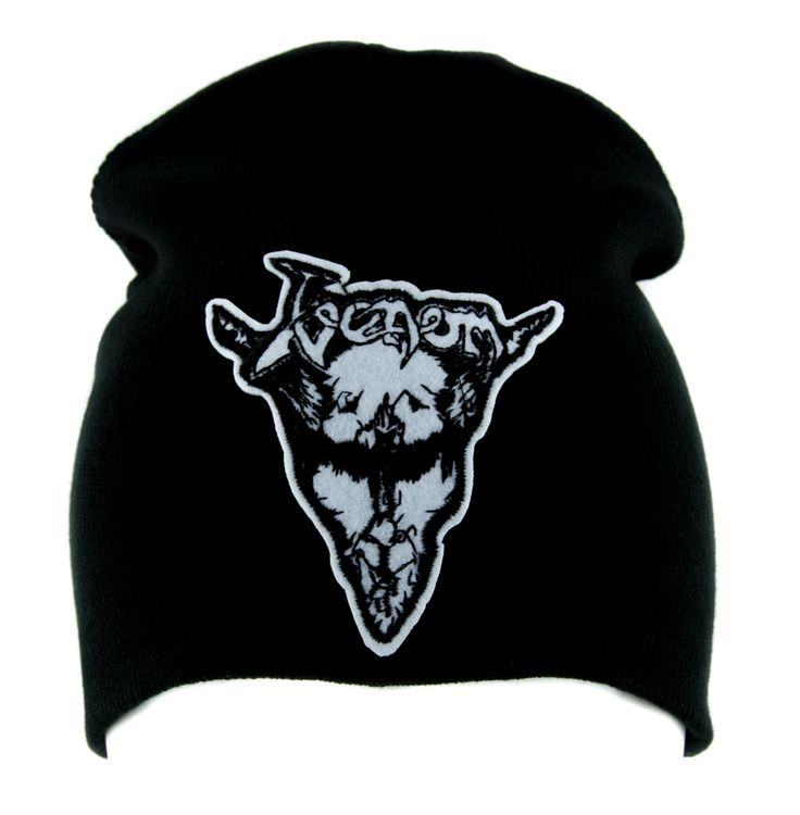 Venom Black Metal Beanie Alternative Clothing Knit Cap Heavy Music