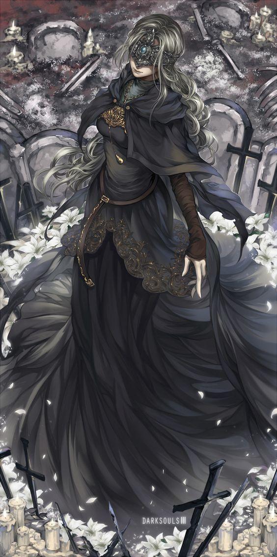Fire Keeper арт, Игры, dark souls, Dark Souls 3: