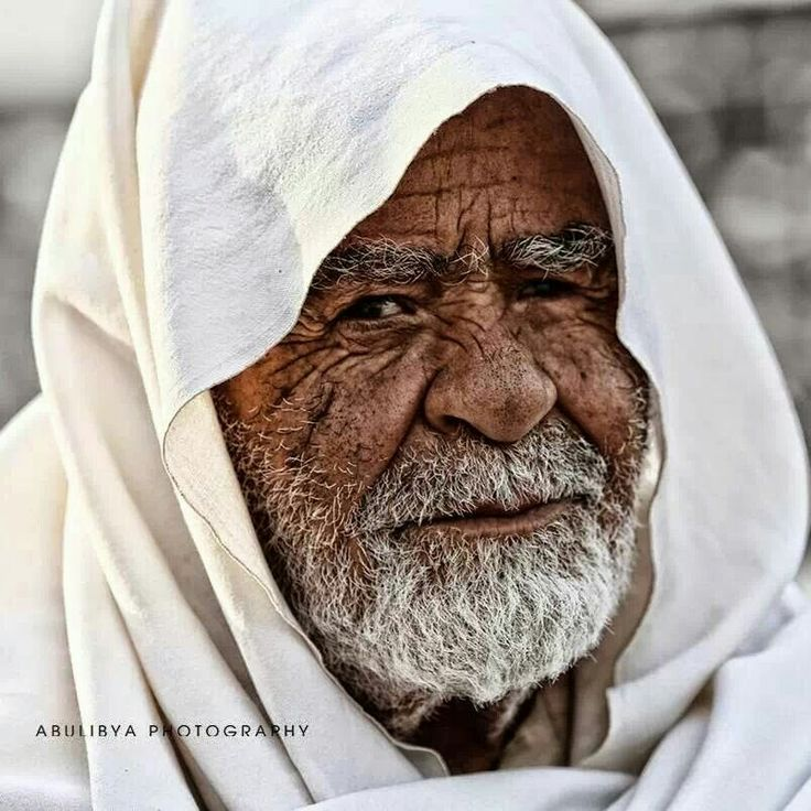 Old man from Libya