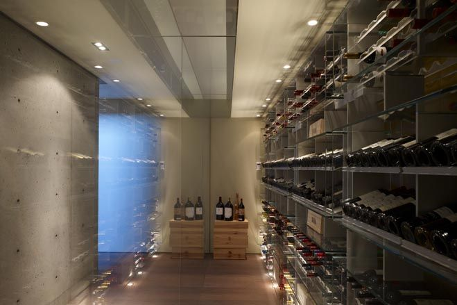 Builder Mauricio Oberfeld built himself a 9,000-square-foot house with a 3,000-square-foot lower level that includes an office, playroom, movie theater and wine cellar.