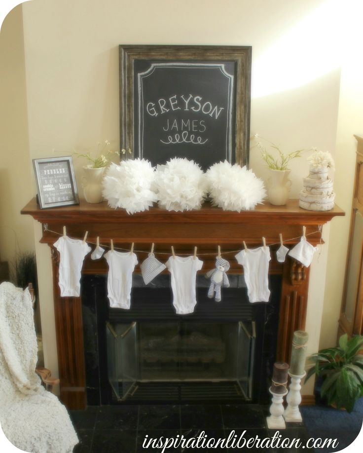 Welcome to our New Home & A Burlap and Chalkboard Baby Shower