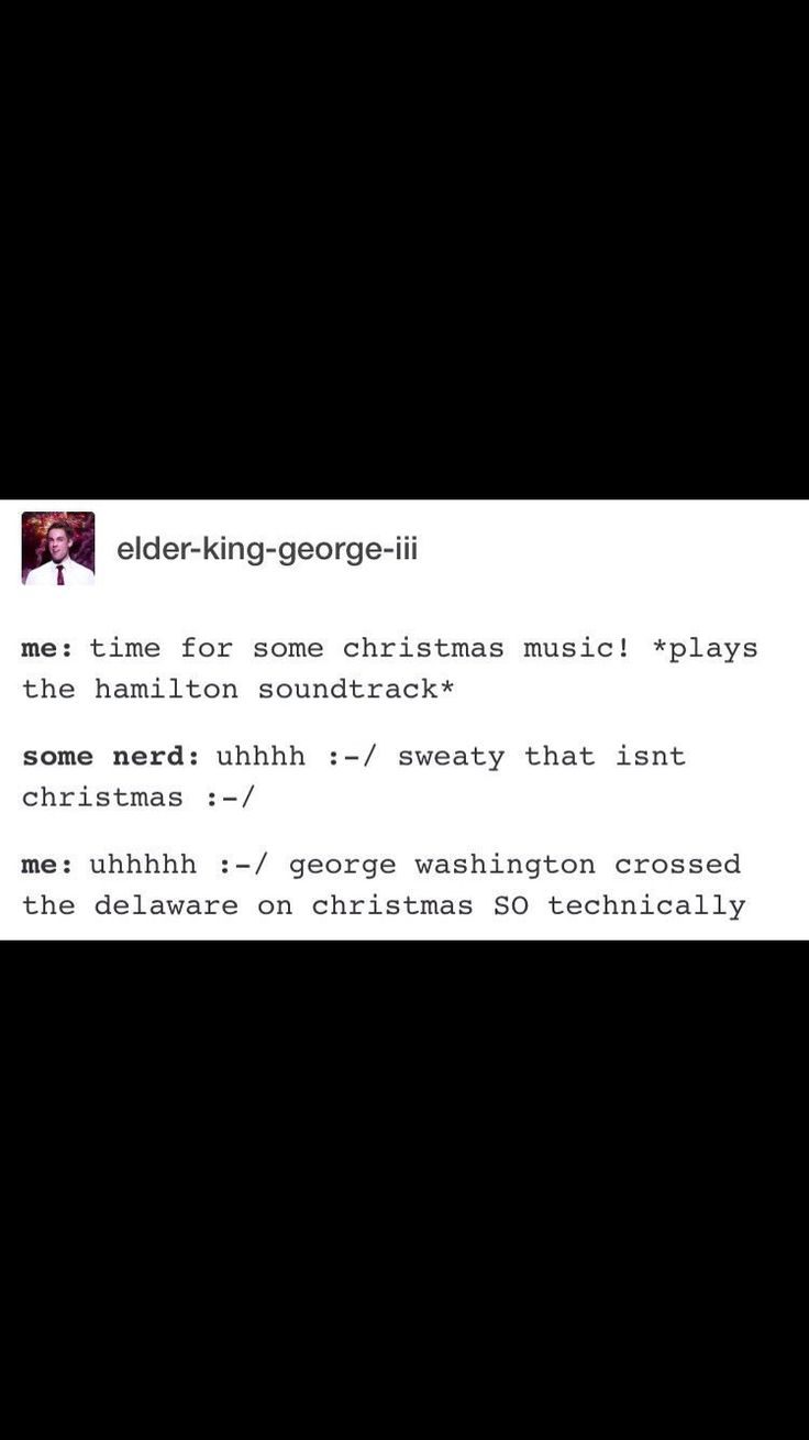 "I did this all Christmas I think I can put ""making various musicals relate to Christmas"" on my resume now"