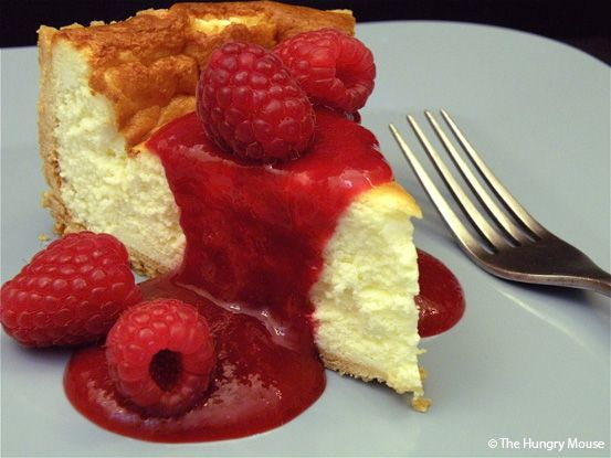French Cheesecake  (Tarte au Fromage Blanc) http://www.thehungrymouse.com/2009/07/03/french-cheesecake/