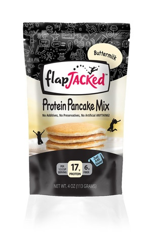 FlapJacked Sample Packs are now available!  Try yours today and experience the best tasting Protein Pancakes
