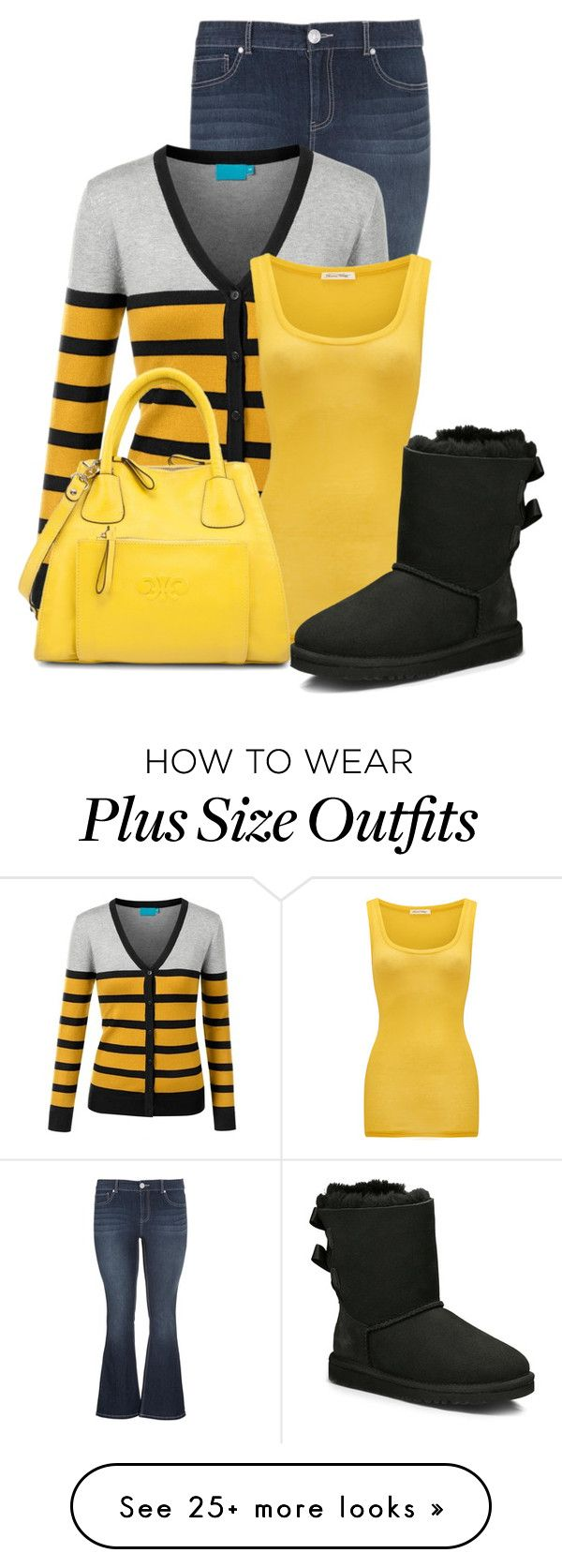"""""""Untitled #12419"""" by nanette-253 on Polyvore featuring maurices, American Vintage and UGG Australia"""