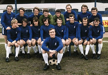 Chelsea FC in the early 1970s