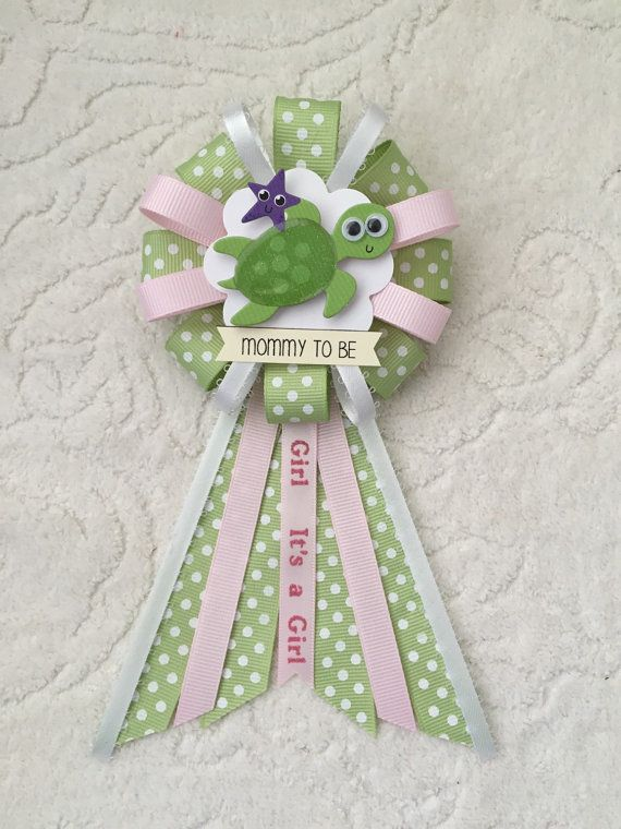 mommy to be ribbon corsage for baby shower itu0027s by