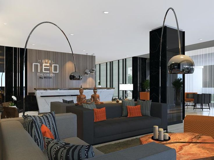 Lobby Hotel Neo Malioboro