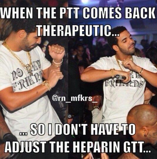 PTT and Heparin