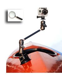 RAM Mounting Systems Power Locking Suction Cup Camera Mount $65