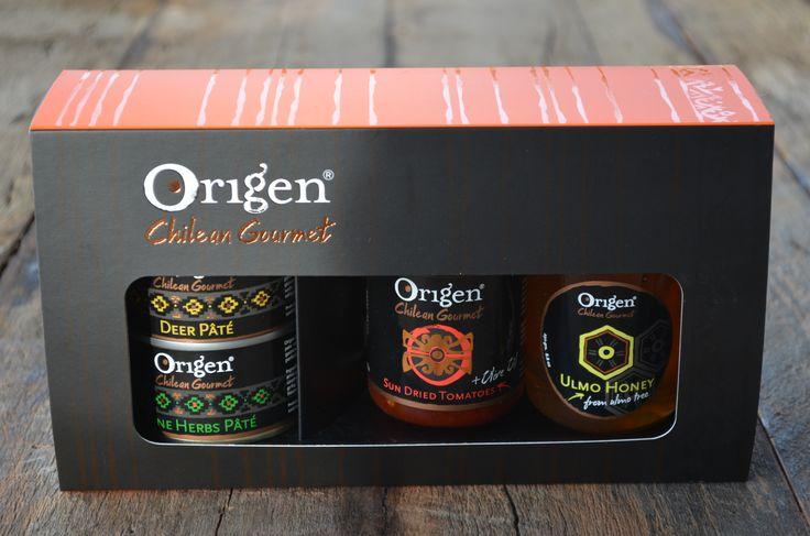 Una de nuestras cajas de regalo Origen!!