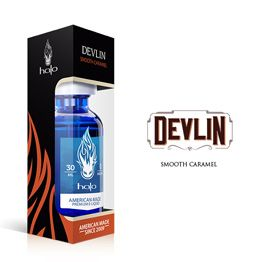 Devlin E-Liquid | Caramel Flavor E-Juice | Halo