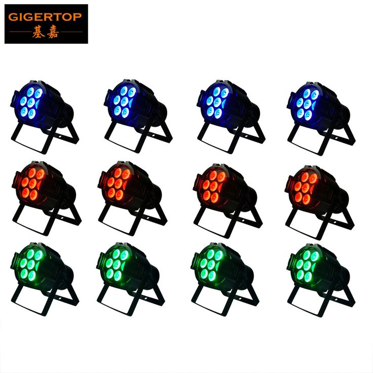 ==> [Free Shipping] Buy Best 12pcs/lot Hot Sale 7X10W 4in1 RGBW Led Stage Light High Power LED Par Cans Strobe effect DMX512 DJ Disco Equipment TP-P50 Online with LOWEST Price | 32363786580