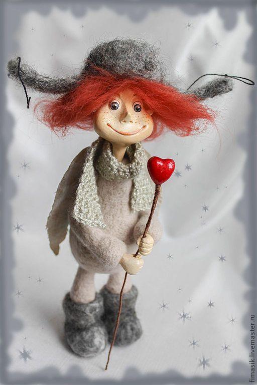 Купить Ноябрьский ангел Лапушок - ангел, ангелочек, оригинальный подарок, душевный подарок, душевные вещи